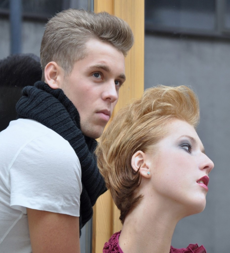 Lisa+Julian beim Beauty Shooting