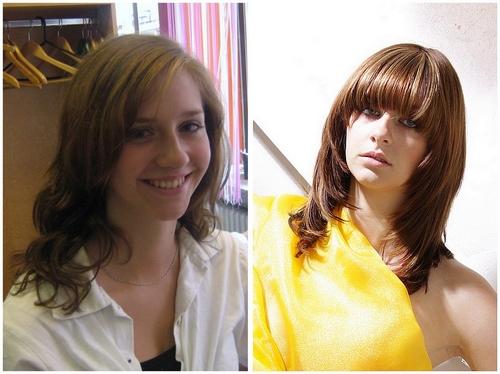 Laura vorher /nachher