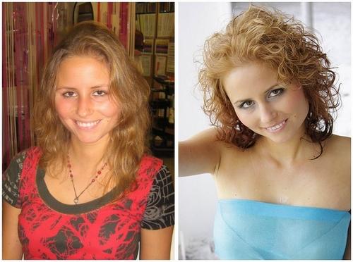 Vanessa vorher /nachher